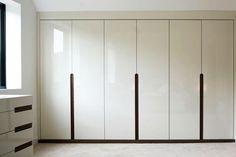 plain white doors