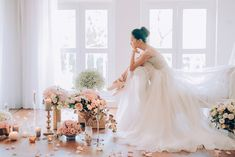 Ballerina Dreams: A Series of Beautiful Bridal Portraits