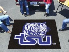 Tennessee State Tailgater Rug 5'x6'