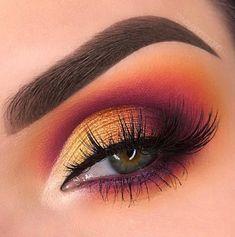 Fabulous eye makeup ideas make your eyes pop Fabulous eye makeup ideas make your eyes pop,Make-up Related best eyeshadow looks, eye makeup looks, eye shadow , ey. Makeup Eye Looks, Dramatic Eye Makeup, Colorful Eye Makeup, Eye Makeup Tips, Makeup For Brown Eyes, Makeup Inspo, Eyeshadow Makeup, Eyeshadow Ideas, Orange Makeup