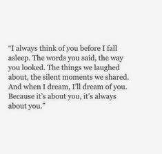 It's always about you...
