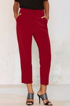 Audrey Pleated Trousers