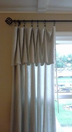 I love these drop clothes so much I even used them for inexpensive (cheap) drapes in my home. Rod I previously used, found ring with clips at a garage sale, about 100 for $3.00 Washed, dried drop cloth ,folded over what I didn't need for length, divided equal, clipped on the rings, and slid on rod. How much cheaper could I get????? Still love the look today,CASUAL! !!!!