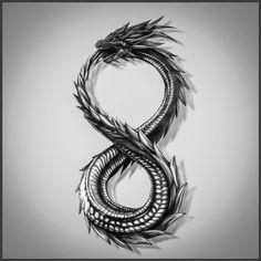 Dragon Eating Its Tail Tattoo Highly Detailed Tattoo contest design Tattoos Skull, Irezumi Tattoos, Body Art Tattoos, Hand Tattoos, Small Tattoos, Sleeve Tattoos, Geisha Tattoos, Tatoos, Detailliertes Tattoo