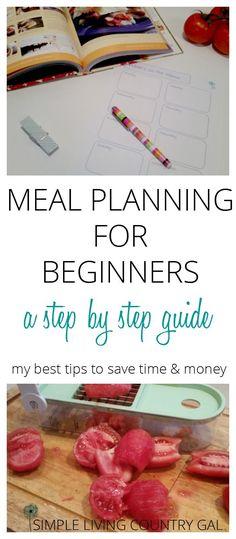 Do you make your weekly menu only to forget about it days later? I have tips on how to not only make a menu but ensure you actually use it! via @SLcountrygal