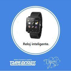 Es hora de innovar con este excelente reloj inteligente.  http://amzn.com/B00FB2XNCE