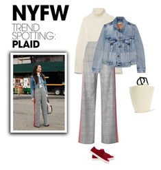 Win It! NYFW Trend Spotting: Plaid // Top Fashion Sets for Feb 15th, 2018 by bliznec-anna on Polyvore featuring polyvore fashion style Burberry Vetements Monse Fendi Solid & Striped clothing contestentry NYFWPlaid