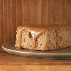 Oatmeal Cake with Caramel Icing Recipe from Taste of Home -- shared by Summer Marks of Louisville, Kentucky