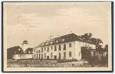 Kuranstalten Montebello. Vestfløj og Badebygningen i Helsingør
