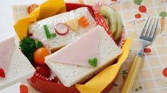 バレンタインのサプライズサンドイッチ弁当作り方動画公開