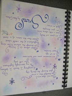 English literature and creative writing