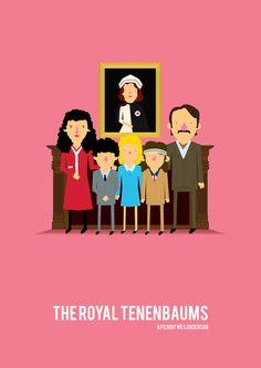 The Royal Tenenbaums (Dir: Wes Anderson, 2001)