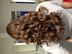 TIP: make perfect bouncy curls with the wand. You can find it Target for only $25
