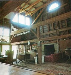 Converted barn look for a home