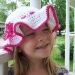 Child Size Sun Hat by Corina Gray of Stitch11!