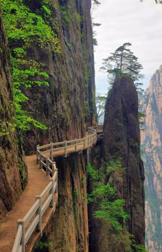 Huangshan Anhui, China. I'll be in China soon, and I'll be staying very near here!
