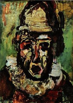 Clown tragique - Georges Rouault