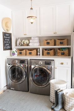 14 Basement Laundry Room ideas for Small Space (Makeovers) 2018 Laundry room organization Small laundry room ideas Laundry room signs Laundry room makeover Farmhouse laundry room Diy laundry room ideas Window Front Loaders Water Heater Laundry Room Remodel, Laundry Room Cabinets, Basement Laundry, Farmhouse Laundry Room, Small Laundry Rooms, Laundry Closet, Laundry Room Organization, Laundry Room Design, Diy Cabinets