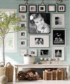 collage ideas, black and white wall collage, photo collage ideas