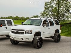 2010 Tahoe, Tahoe Lt, Lifted Chevy Tahoe, Chevrolet Tahoe, Rough Country Suspension, Chevy Avalanche, Tyre Fitting, Custom Wheels, Wheels And Tires