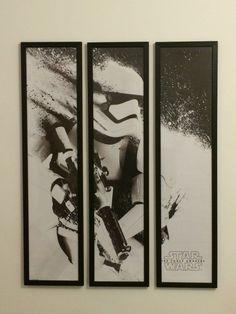 STORMTROOPER 3 PIECE FRAMED POSTER BY framesbymarvel Starwars, 3 Piece, Posters, Frame, Home Decor, Picture Frame, Decoration Home, Room Decor, Star Wars
