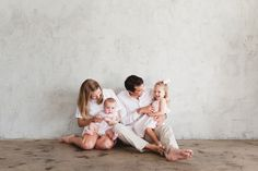 An amazing Downtown Los Angeles family photo session