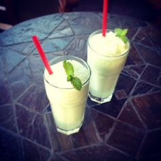 The famous Royden Lemonade, blended with vanilla, coconut and fresh mint