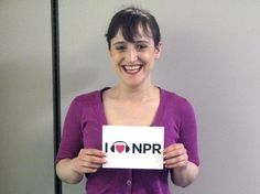 Mara Wilson Loves NPR & that is tantamount to an Act of Treason against the United States since NPR is hyper liberal, Supports Obama & the NSDPA & other hyper liberal causes that spell DOOM for the United States. Act Of Treason, Mara Wilson, Role Models, Growing Up, Acting, Beautiful Women, Love, Obama, Nerd