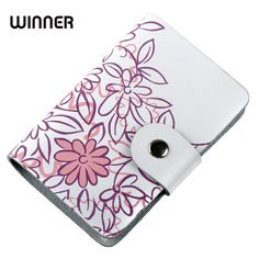 Cheap credit card holder, Buy Quality wallet credit card holder directly from China business cardholder Suppliers: Fashion split leather business card holder cards women leather wallet credit card holder book ID card case floral cardholder