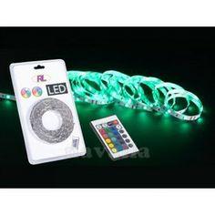 Make a bespoke decoration - Trio LED strip with remote control
