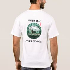 BØNNEVANDRING Norwegian T-Shirt  $21.35  by FreeLegions  - cyo diy customize personalize unique