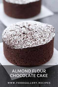 Fluffy, gluten-free almond flour chocolate cake is naturally sweetened with a touch of honey. It's moist and so delicious! Cake Recipes At Home, Delicious Cake Recipes, Homemade Cake Recipes, Best Cake Recipes, Yummy Cakes, Bread Recipes, Easy Recipes, Cake Cookies, Cupcake Cakes