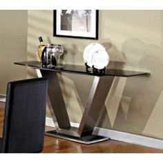 Agastino Contemporary Marble Console Table