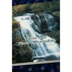 Albanian Gospel of John and The Book Of Romans / Pjese nga Fjala e Per Book Of Ephesians, The Book Of Romans, Gospel Of John, Waterfall, Bible, Books, Outdoor, Biblia, Outdoors