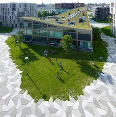 Park Design for a High Density Housing Area park design housing area4