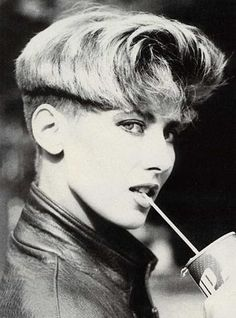 """80s hairstyle, I had almost the exact same """"style"""" myself! What on earth was I thinking?!?"""