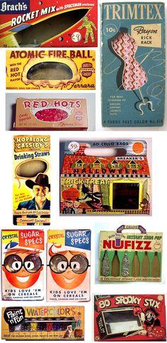 Vintage package design