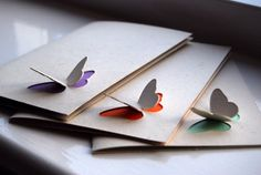 These are fun! pop-out butterfly cards.