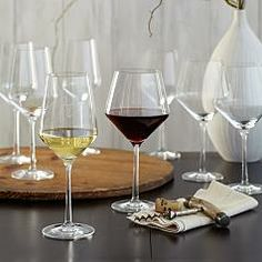 schott zwiesel tritan burgundy stemware glass set of four