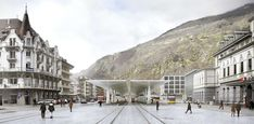 a f a s i a: Luigi Snozzi Luigi, Landscape Concept, Urban Landscape, Urban Design, Art And Architecture, Street View, Exterior, World, Building
