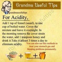 Grandma tips Natural Health Remedies, Natural Cures, Natural Healing, Herbal Remedies, Holistic Remedies, Acidity Remedies, Natural Foods, Natural Products, Sinus Remedies