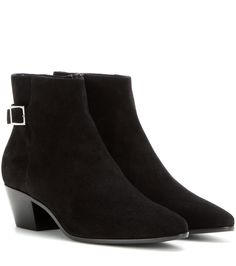 Saint Laurent - Rock 40 suede boots