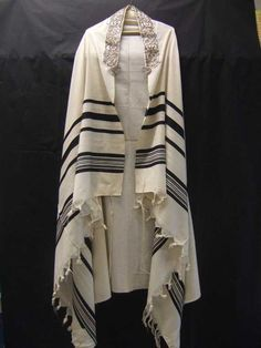 Traditional jewish prayer shawl