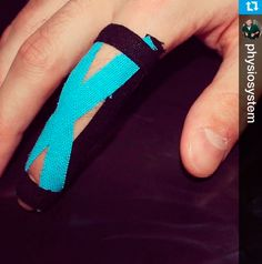 Finger Kinesiology Taping