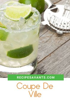 I Conquered This Recipe - Coupe De Ville Italian Cocktails, Alcoholic Cocktails, Easy Cocktails, Orange Juice, Lime Juice, Banana Oatmeal Smoothie, Iced Cappuccino, Blackberry Wine, Mexican Beer