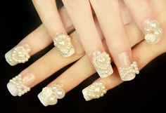 https://www.etsy.com/listing/182367681/wedding-nail-art-pearl-floral-press-on