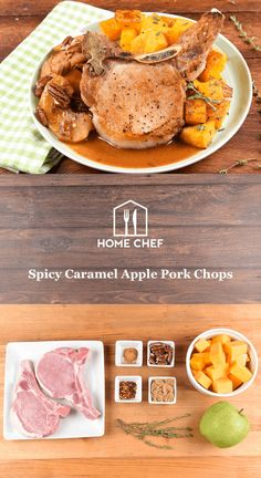 It's time once more to bid farewell to summer and prepare for cooler weather, playoff baseball, and pumpkin-spiced everything. This is when we start to crave warming flavors, and our healthy caramel apple pork chop fits the bill perfectly. The mix of sweet, savory, and a hint of heat from red pepper flakes is just what you want on your dinner table. Paired with that other autumnal heavy-hitter, butternut squash, this is the perfect meal to prepare when the leaves start falling.