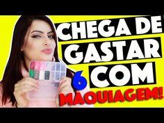 CRIANDO KIT DE MAQUIAGEM CASEIRA SEM GASTAR NADA #6  | KIM ROSACUCA - YouTube