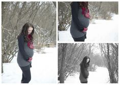 Winter Maternity Session Captured by Kay Photography - Weyburn, SK Red Gloves, Maternity Session, Pregnancy, Snow, Photoshoot, Winter, Photography, Red Mittens, Winter Time