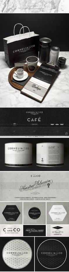 Beautiful, cohesive and oh so lovely packaging by Oriol Gil. Located in Barcelona city since 2010, Cornelia and Co is a restaurant, a bakery, a winery, a coffe shop and many other things. A place where you can buy many gourmet products, a pack of fresh pasta or take an exotic tea. Inspired in the graphic design of …
